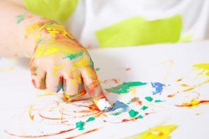 نقاشی انگشتی کودکان