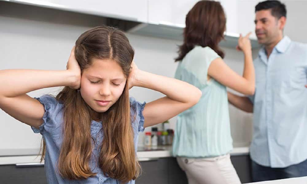 تاثیر دعوای زن و شوهر بر روی کودکان